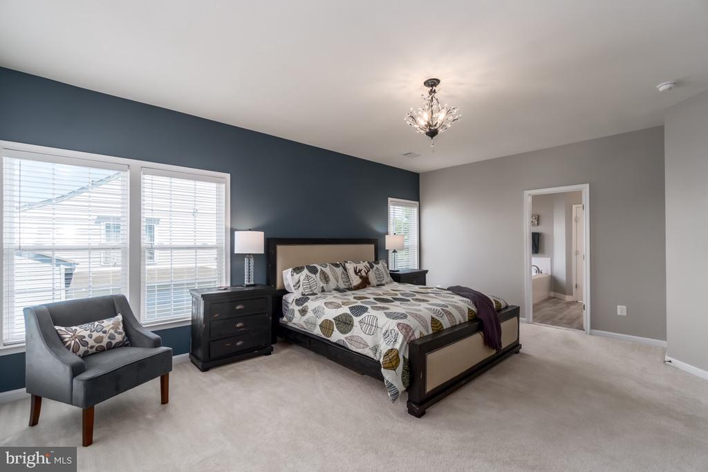 Master Suite with Sitting Area - 43309 ATHERTON ST, ASHBURN