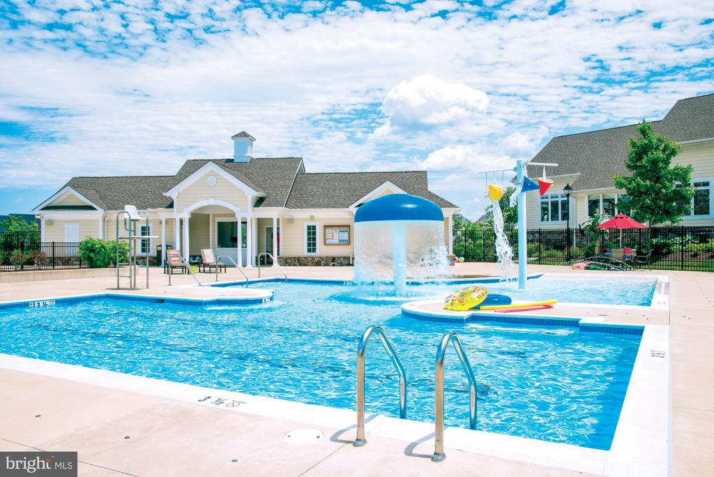Pool at Loudoun Valley - 23558 NEERSVILLE CORNER TER, ASHBURN