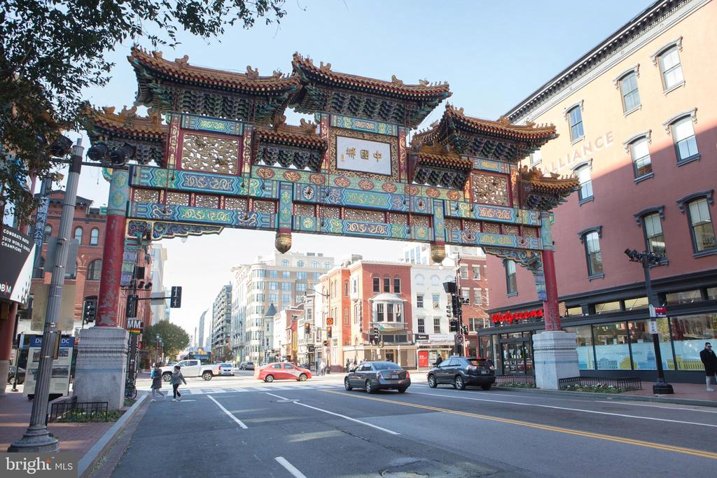Chinatown Gate from Southeast - 777 7TH ST NW #632, WASHINGTON
