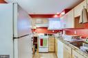 English basement kitchen - 1504 IRVING ST NE, WASHINGTON