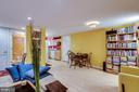 English basement living room - 1504 IRVING ST NE, WASHINGTON
