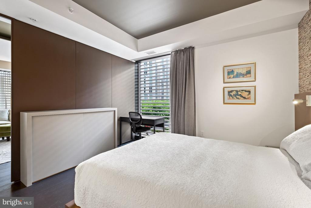 Bedroom with Built-In Storage - 925 H ST NW #301, WASHINGTON
