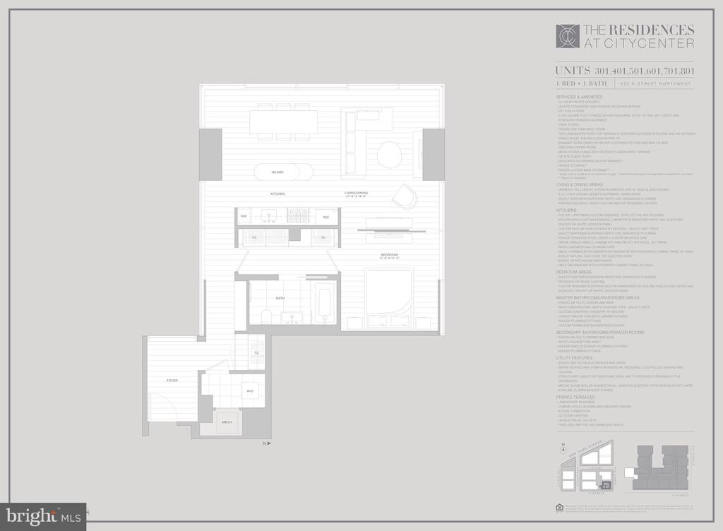 #301 Floorplan - 925 H ST NW #301, WASHINGTON