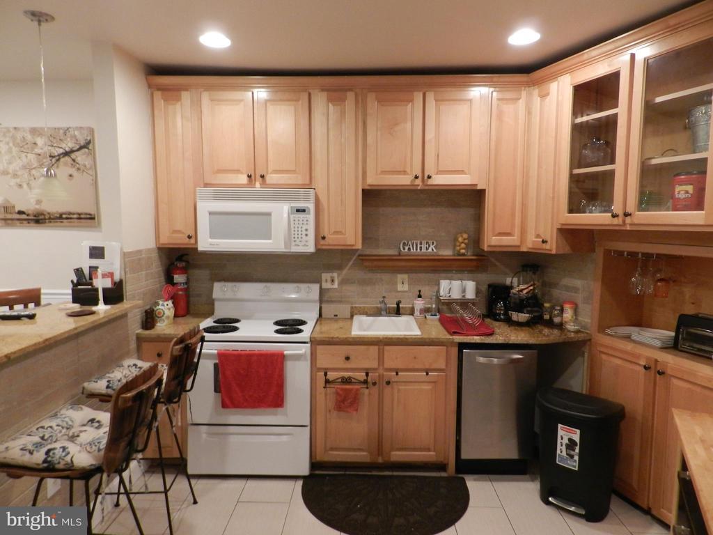 Apartment Kitchen - 41 NEW YORK AVE NW, WASHINGTON