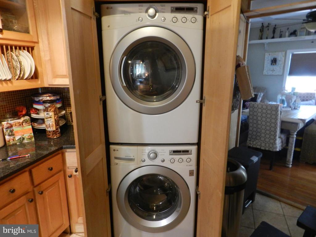 Main Level Washer & Dryer - 41 NEW YORK AVE NW, WASHINGTON
