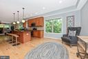 Large entertaining area off kitchen - 6799 ACCIPITER DR, NEW MARKET
