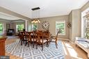 Dining room or added living space - 6799 ACCIPITER DR, NEW MARKET