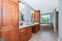 Huge owner's bath - 6799 ACCIPITER DR, NEW MARKET