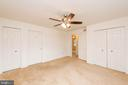 Main Level Master Bedroom - 3326 CARLISLE DR, KNOXVILLE