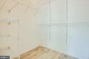 Primary Bedroom Closet - 1847 CEDAR COVE WAY #201, WOODBRIDGE