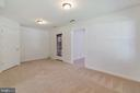 Rec. Room with Walkout Level Deck Access - 13433 CATAPULT LN, BRISTOW