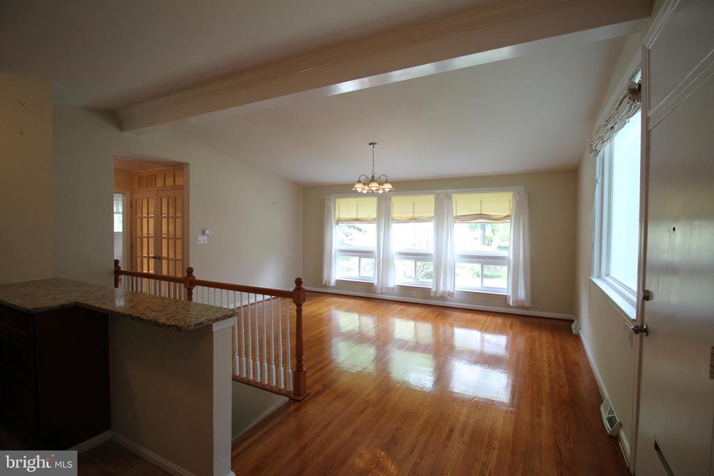 Open Floor Plan with Vaulted Ceilings - 4004 DENFELD AVE, KENSINGTON