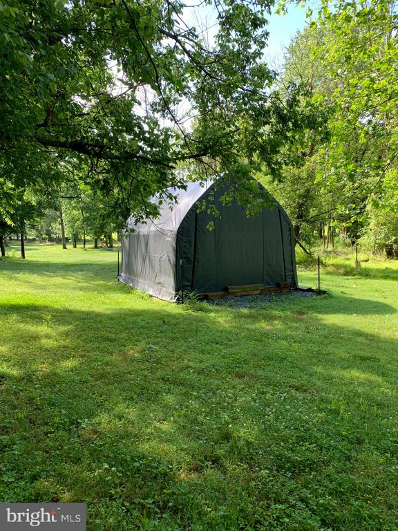 tent in the back of the lawn included - 8303 PALMER RD, MIDDLETOWN