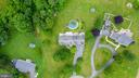 Aerial Rear Lot - 3326 CARLISLE DR, KNOXVILLE