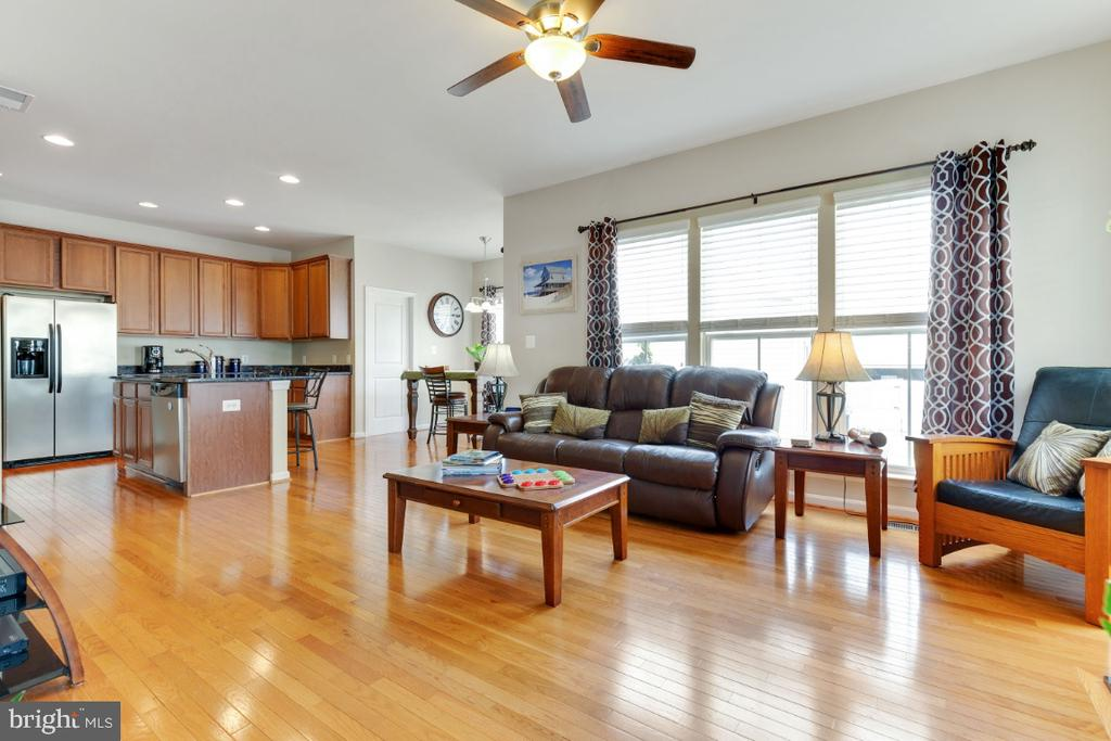Family Room with Plenty of Natural Light - 23402 HIGBEE LN, BRAMBLETON
