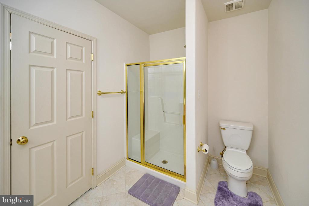 Basement 2nd Master Suite Full Bath - 86 SAINT MARYS LN, STAFFORD