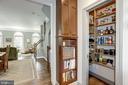 Spacious pantry, cookbook & appliance storage - 1330 N ADAMS CT, ARLINGTON