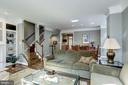 Spacious living room & dining room - 1330 N ADAMS CT, ARLINGTON