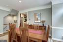 Crown moldings & chair railings & 9 ft ceilings - 1330 N ADAMS CT, ARLINGTON