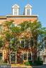 Charming cherry trees & brick pavers at entrance - 1330 N ADAMS CT, ARLINGTON