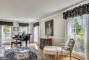 Elegant Light Filled Living Room. - 2877 FRANKLIN OAKS DR, HERNDON