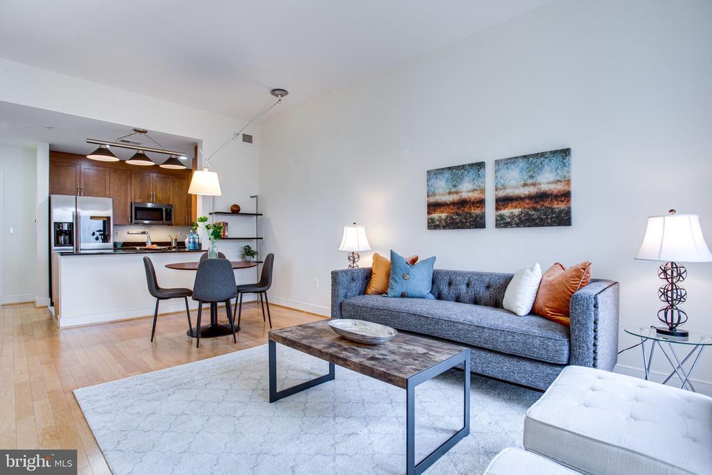 Stunning open floor plan concept - 4101 ALBEMARLE ST NW #618, WASHINGTON