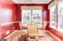 Cozy Breakfast Room - 3854 CHAMPION OAK DR, DUMFRIES