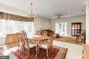 Dining to Living Room - 3854 CHAMPION OAK DR, DUMFRIES