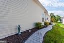 Stamped Concrete Walk from Front to Back - 3854 CHAMPION OAK DR, DUMFRIES