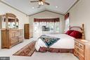 Master Cathedral Ceiling, Fan & Recessed Lights - 3854 CHAMPION OAK DR, DUMFRIES