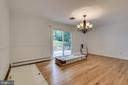 Banquet sized Dining Room - 7771 CLIFTON RD, FAIRFAX STATION