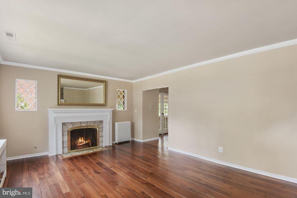 Fireplace in Living Room - 3209 19TH RD N, ARLINGTON