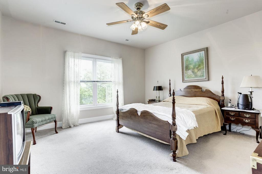 Look at the size of this master bedroom - 117 EASY ST #31, THURMONT