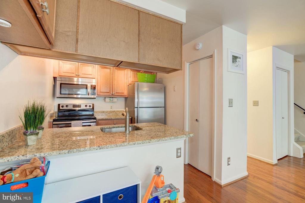 Granite counters and additional storage - 6010 CHESTNUT HOLLOW CT, CENTREVILLE