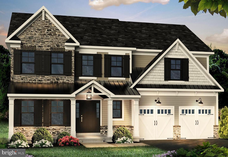 Single Family Homes для того Продажа на Pennsburg, Пенсильвания 18073 Соединенные Штаты