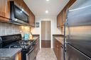Kitchen with Stainless Steel Appliances - 224 N GEORGE MASON DR #4, ARLINGTON