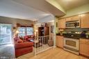 Open concept kitchen - 86 N BEDFORD ST #86A, ARLINGTON