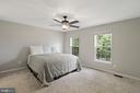 Master bedroom with his and hers closets - 6908 SUSQUEHANNA RD, GAINESVILLE