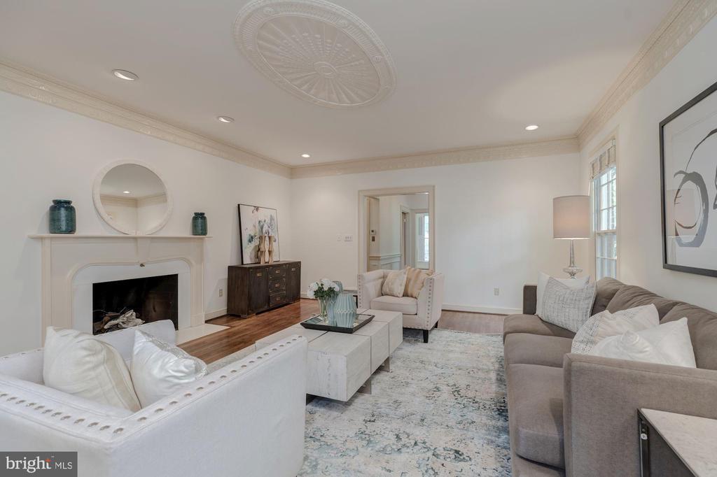 Living Room - 5201 MANNING PL NW, WASHINGTON