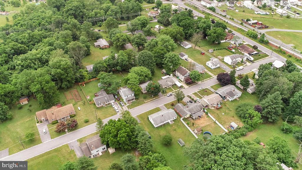 Aerial View - 16-A ELM ST, THURMONT