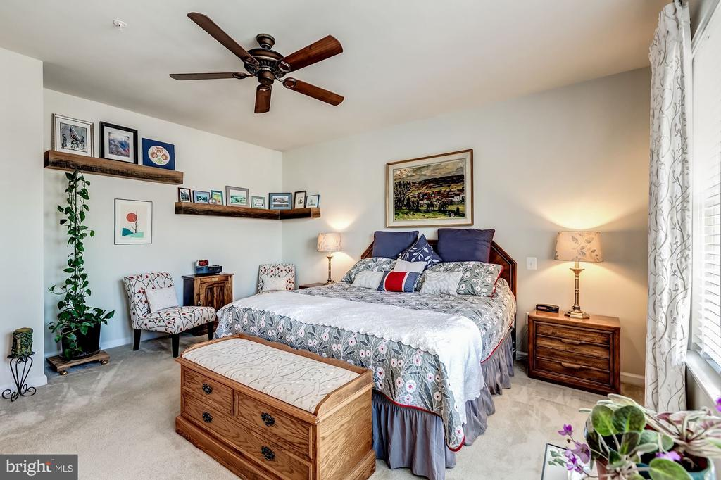Owners suite bedroom - 20660 HOPE SPRING TER #407, ASHBURN