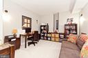 Movie room/office in basement - 3000 12TH ST S, ARLINGTON