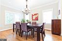 Formal dining room - 3000 12TH ST S, ARLINGTON
