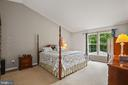 What a bedroom peaceful setting. - 20311 BROAD RUN DR, STERLING