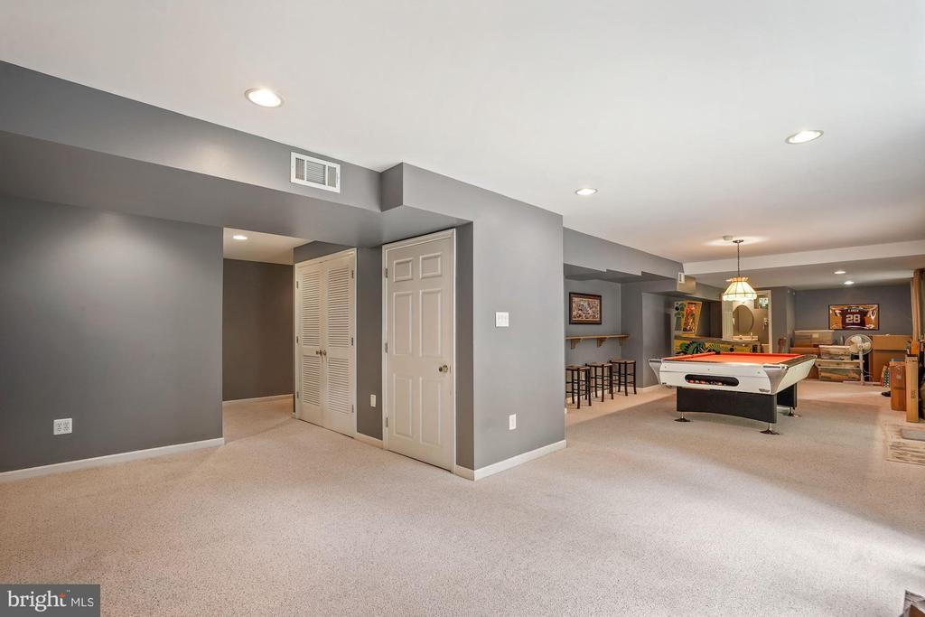 Lots of room for people and games - 20311 BROAD RUN DR, STERLING
