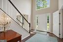 Grand, bright 2 story foyer. - 20311 BROAD RUN DR, STERLING