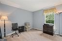 All of the bedrooms are generously sized - 20311 BROAD RUN DR, STERLING
