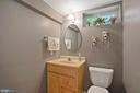 Basement half bath with rough-in for tub/shower - 20311 BROAD RUN DR, STERLING
