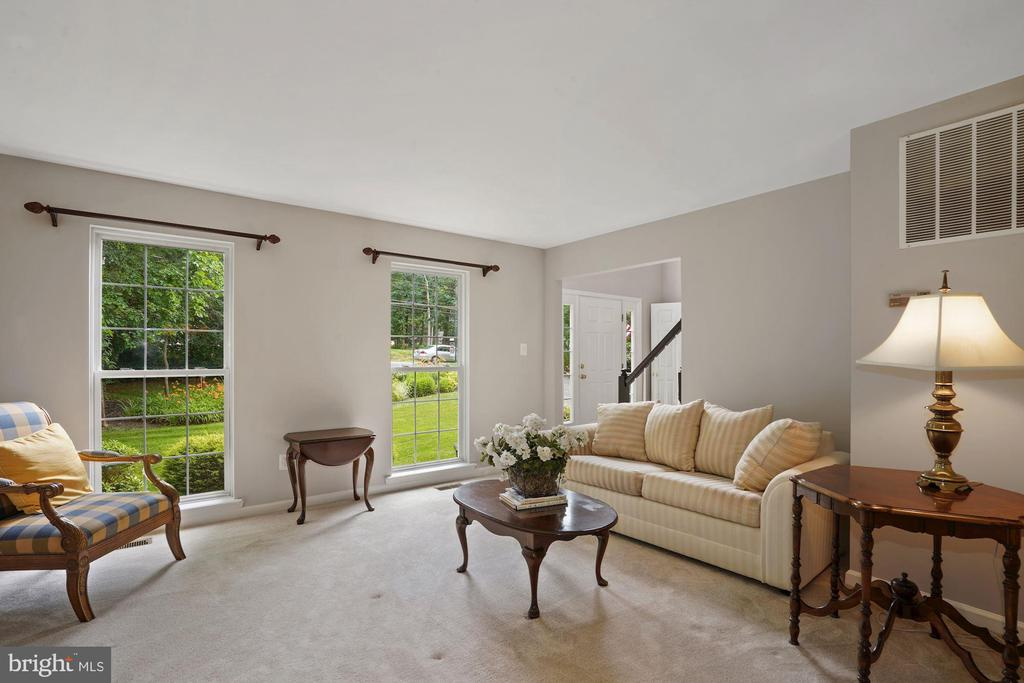 Spacious living room for social gatherings - 20311 BROAD RUN DR, STERLING