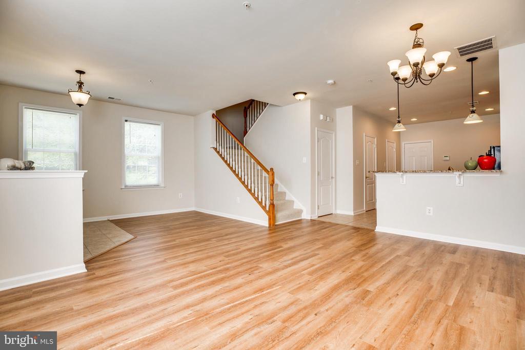 Brand New Wood Floors, installed 6/24. - 22755 SETTLERS TRAIL TER, BRAMBLETON